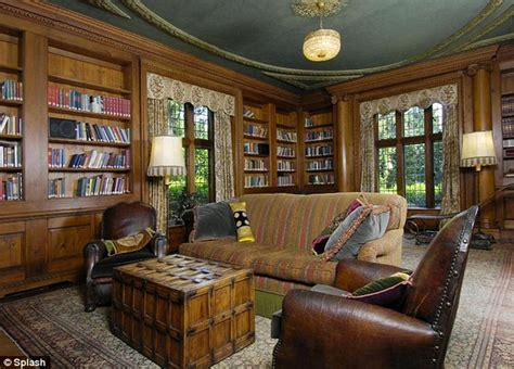 King Library Study Room by Inside The Sprawling Multi Million Mansion That Mel Gibson