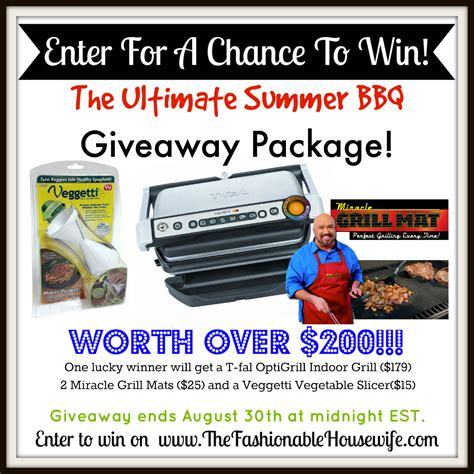 The Ultimate Entertaining Giveaway by Enter Our Ultimate Summer Bbq Giveaway 200 Worth Of Prizes