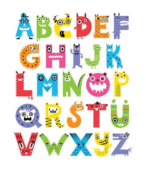 free printable monster alphabet letters 6 best images of printable monster alphabet letters free