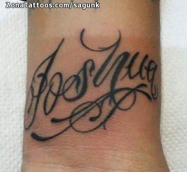 imagenes tatuajes q digan gustavo tatuaje de joshua nombres letras