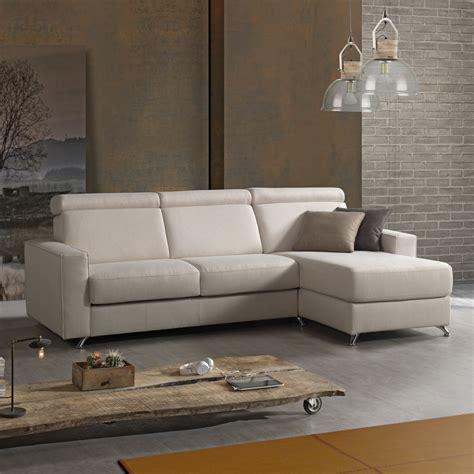 divano letto di design divano letto di design con penisola in tessuto fatto in