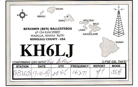 More Dx Qsl Cards Qsl Card Template 2