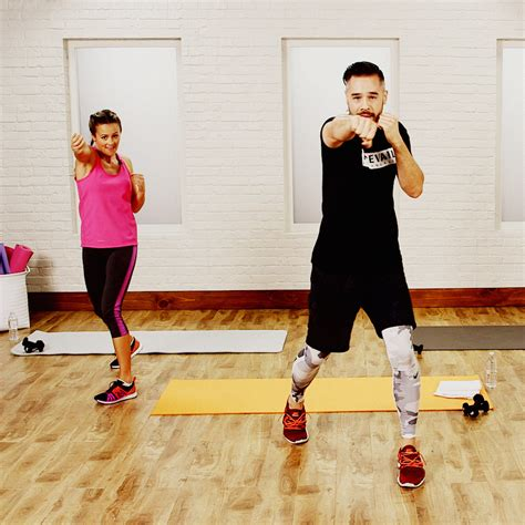 15 minute at home boxing workout popsugar fitness australia
