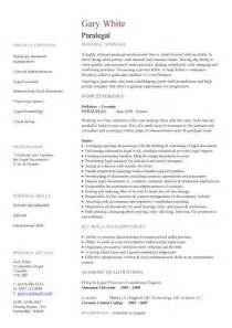 Use these legal CV templates to write a effective resume