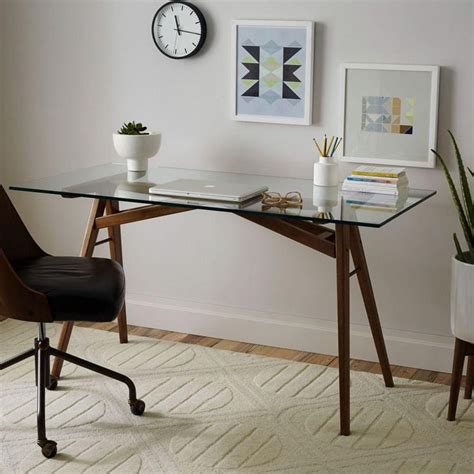 best 25 glass top desk ideas on milk paint