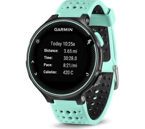 Garmin Fr 235 Blue buy garmin forerunner 235 blue black free delivery currys