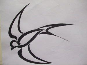 swallow tribal tattoo 17 best images about bird designs on all