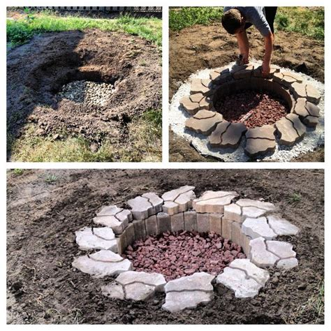 how to make a firepit how to make a pit pit design ideas