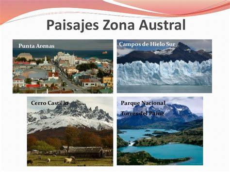 imagenes zonas naturales de chile relieve y paisajes de las zonas naturales