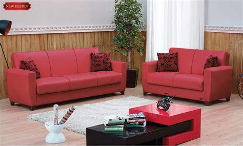 dallas leather sofa bed by empire furniture usa
