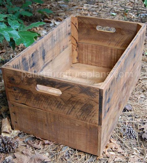make all from wood 25 best ideas about pallet boxes on pinterest pallet