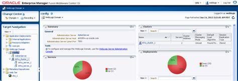 admin console weblogic serverドメインにおけるoracle http serverの構成