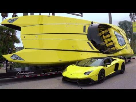 lamborghini aventador superveloce boat 1 3 million lamborghini boat has 2 700 hp and aventador
