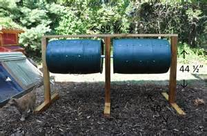 Diy chicken manure tumbling composter community chickens 1102x726