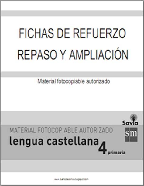 savia lengua 6 educacin 8467578564 el blog de cuarto material fotocopiable autorizado fichas de lengua del proyecto savia sm 4 186