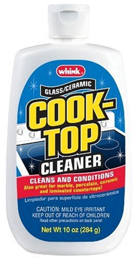 Whink Glass Ceramic Cooktop Cleaner save 1 76 whink glass ceramic cooktop cleaner 10 ounce bottle pack of 6 070275331710 23 95
