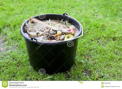 Slop On slop pail stock photo image of ordure trash