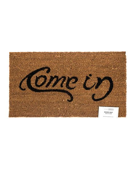 Come In Go Away Rug by Come In Go Away Coir Doormat Homescapes
