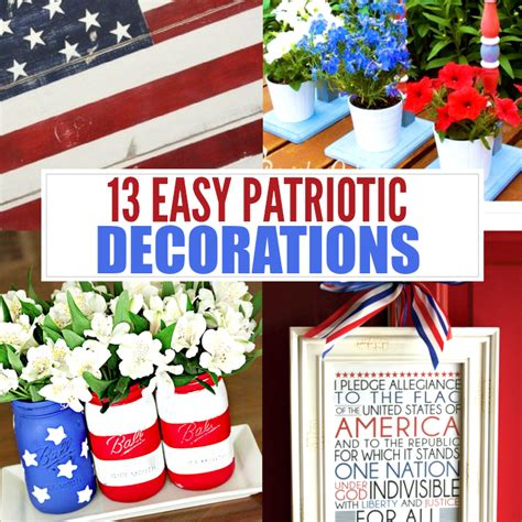 Patriotic Decorations For Home 4th Of July Printables 10 Patriotic Printables To Decorate Your Home For Less