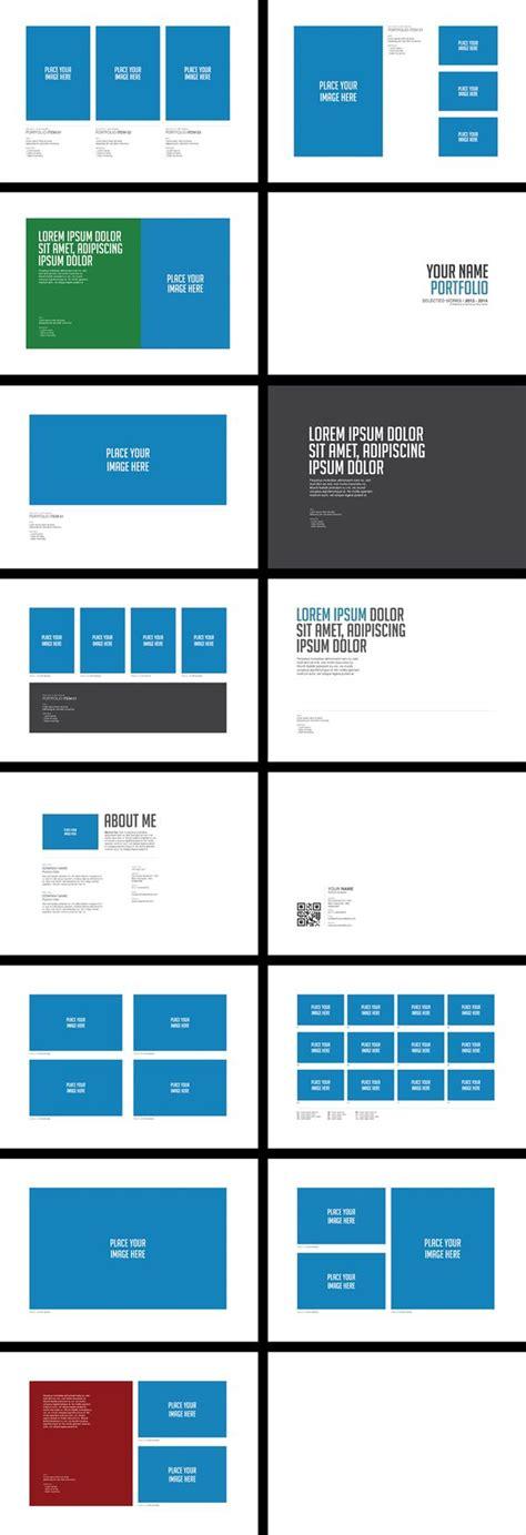 graphic design layout behance portfolio brochure template vol 01 by easybrandz via