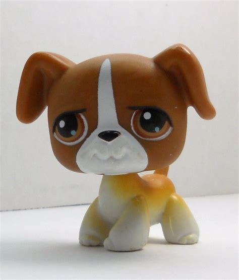 lps boxer puppy littlest pet shop boxer 25 early release 2004