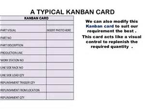 Kanban Cards Template by Kanban Cards Exles Images