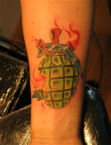 new school grenade tattoo old school grenade tattoo by bloodlustattoo on deviantart