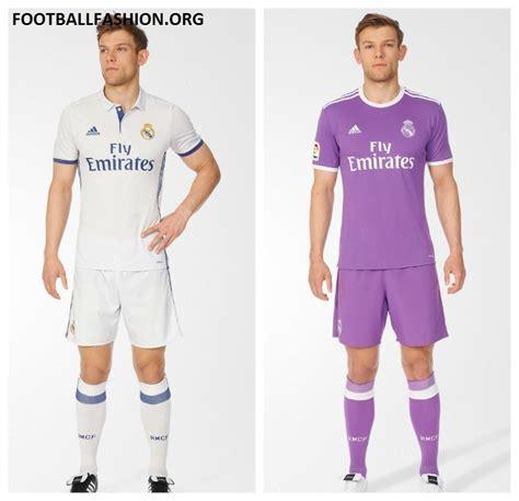 new real madrid kit 2016 2017 real madrid 2016 17 adidas home and away kits football