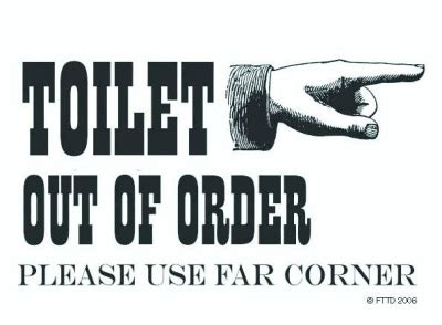 bathroom is out of order bathroom out of order sign catchy home tips concept a bathroom out of order sign view