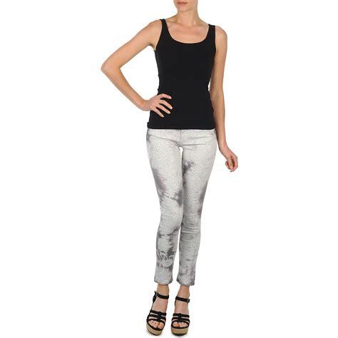 Legging Clara Grey 27 30 cropped trousers cimarron clara tie dye python grey free