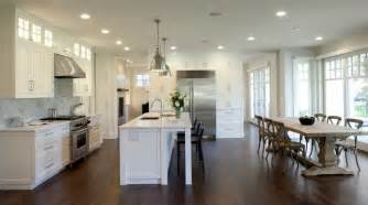 Dining Kitchen Design Ideas by Creating An Open Kitchen And Dining Room