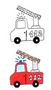 Feuerwehr Aufkleber Gratis by Stempel Feuerwehr Auto Kreativzauber 174 Motivstempel
