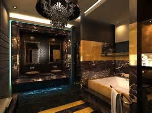 gold and black bathroom ideas ℒℴvℯly maison pour mes 35 ans tile