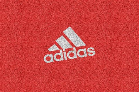 texture for logo adidas logo texture brand red pattern cool wallpaper