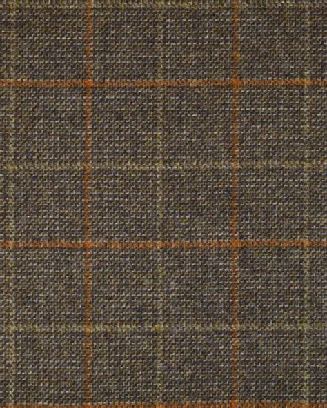 checked fabric for upholstery wool check fabric brown orange check truro fabrics