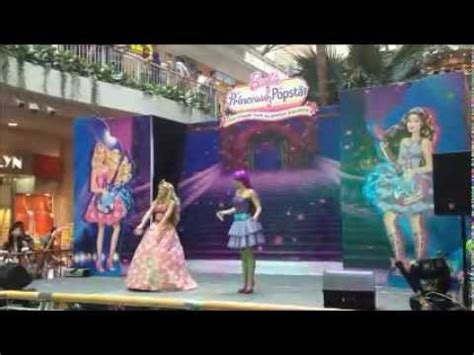 barbie the princess and the popstar musical show dec 2012