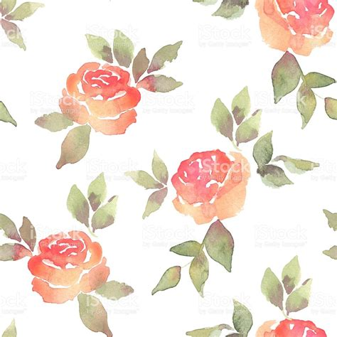 watercolor roses pattern simple roses watercolor background with flowers seamless