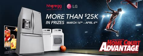 Hhgregg Giveaway - hhgregg myhomecourt giveaway the awesomer