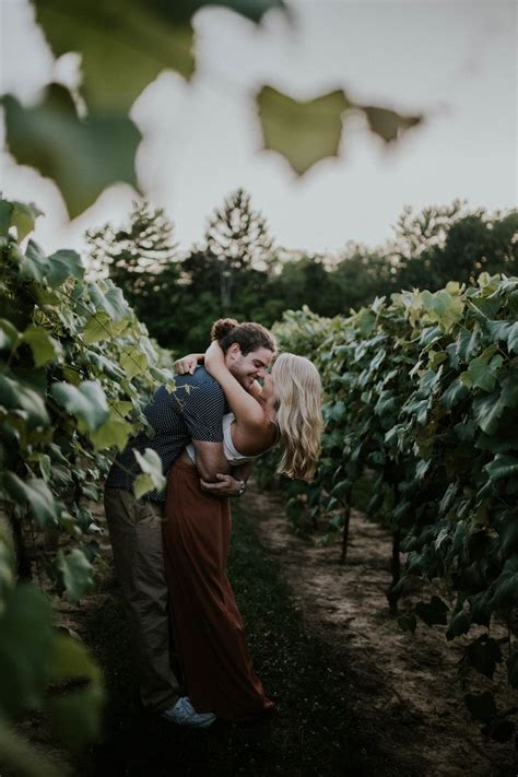 17 Best ideas about Vineyard Engagement Photos on