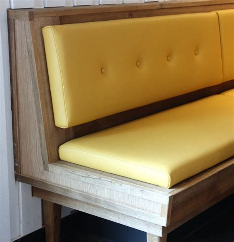 restaurant bench seats kitchen dining banquette seating from bistro into your