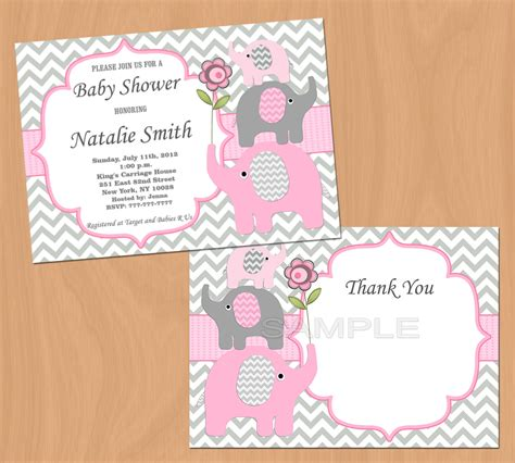 free printable elephant baby shower invitations baby shower invitation elephant baby shower invitation