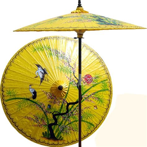asian splendor in sunburst yellow patio umbrella outdoor patio umbrella asian outdoor