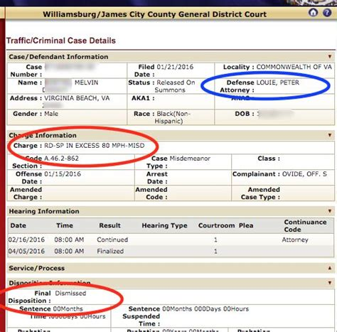 Virginia General District Court Records Last Week S High Speed Cases 95 Mph And 101 Mph Reckless Driving And Traffic