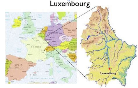 where is luxembourg on the map luxemburg konfliktkarte