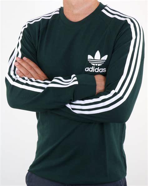 Tshirt Longsleeve Adidas Originals Sleeve Pique T Shirt Green