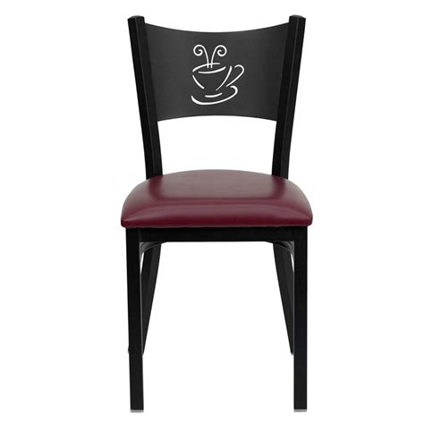 Black Restaurant Chairs by Coffee Back Metal Restaurant Chairs Office Furniture