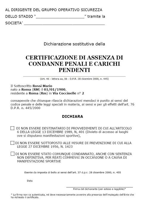 ufficio casellario giudiziale roma la tessera tifoso cos e a cosa serve contro chi e