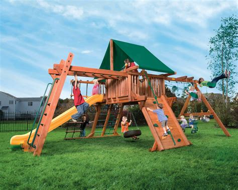 swing set playset woodplay playsets swing sets and playhouse in indianapolis