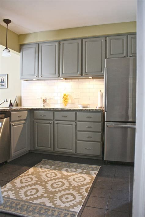 Grey Kitchen Cabinets Kitchen 16 Modern Grey Kitchen Cabinets To Inspire You Painted Gray Kitchen Cabinets