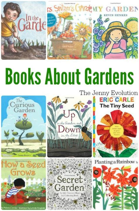 welcome spring 10 picture books about gardens